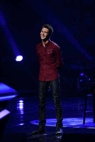 AMERICAN IDOL: Paul Jolley performs in the Sudden Death Round of AMERICAN IDOL airing Thursday, Feb. 21 (8:00-10:00PM ET/PT) on FOX. CR: Michael Becker / FOX. Copyright / FOX.