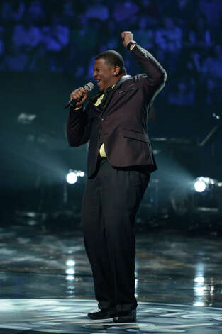 AMERICAN IDOL: Curtis Finch,  Jr. performs in the Sudden Death Round of AMERICAN IDOL airing Thursday, Feb. 21 (8:00-10:00PM ET/PT) on FOX. CR: Michael Becker / FOX. Copyright / FOX.