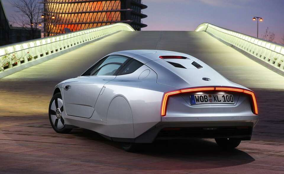 Volkswagen claims the XL1 is the most fuel-efficient production car in the world, with a combined fu