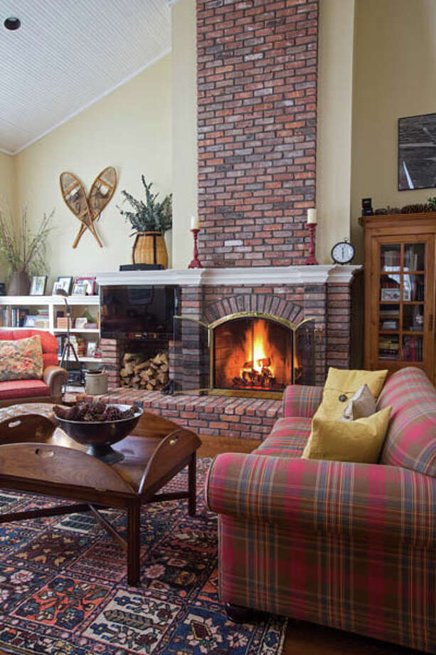 View of the family room of the West home on Wednesday Jan. 16, 2013 in Loudonville, New York Photo: Philip Kamrass / Copyright 2013 Philip Kamrass