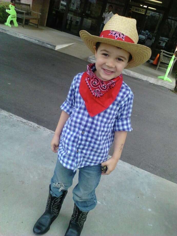 Nate is in the rodeo spirit. Photo: Reader Submission