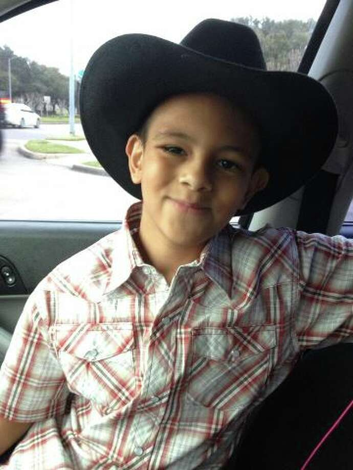 Aidan shows off his cowboy hat. Photo: Reader Submission