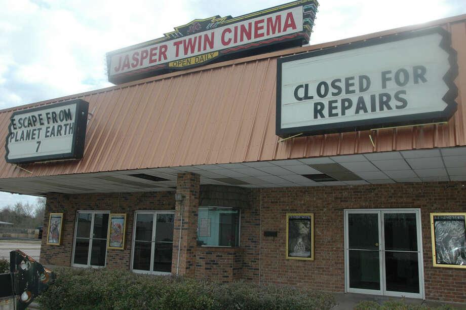 Jasper Twin Cinema is closing its doors March 1. Photo: Jimmy Galvan