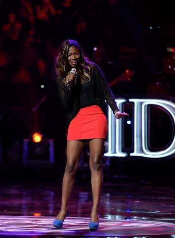 "Houston's Amber Holcomb made an impression on judges during Wednesday's ""American Idol""  sudden-death rounds. Photo: Fox"