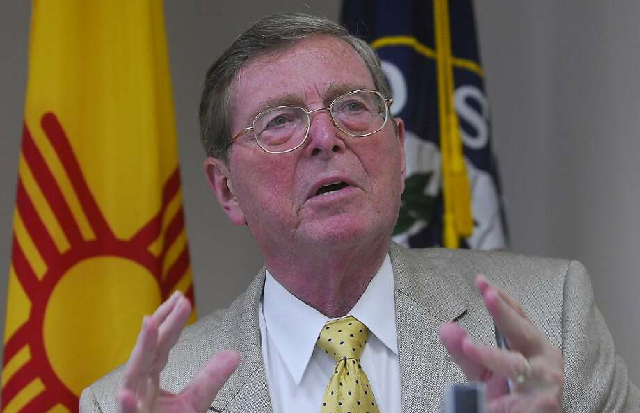 Former Sen. Pete Domenici, R-N.M., joined the ranks of supposedly upright family men who were secretly behaving badly. Photo: Jaelyn DeMaria, AP