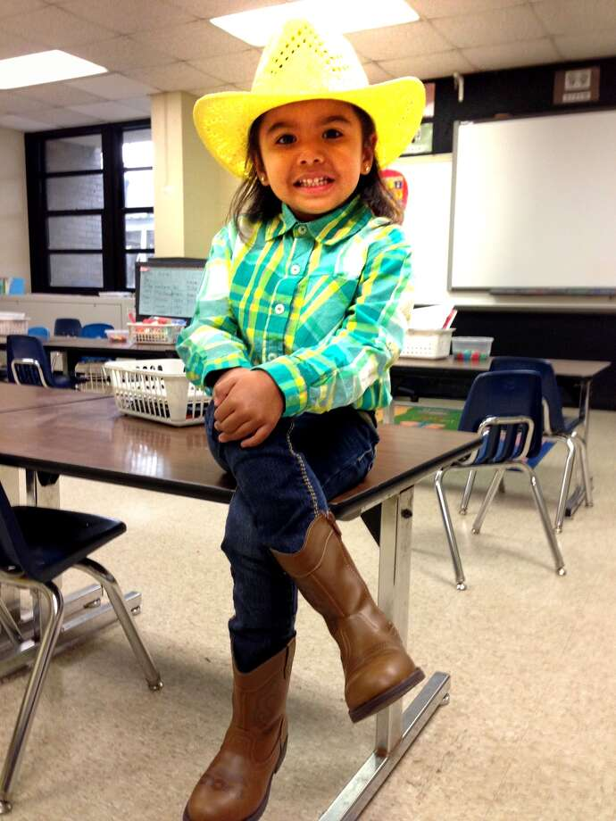 Gabby breaks away from the pink cowgirl trend. Photo: Reader Submission