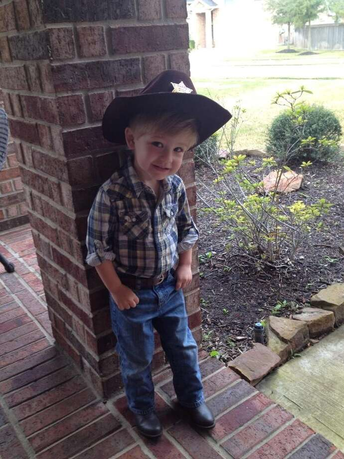 Evan, age 3. Photo: Reader Submission