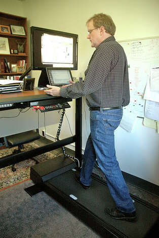 Increased chances of physically hurting yourself: Although a treadmill desk may help with the risk of obesity and heart disease, these desks are also prone to increased typos and might cause you to fall more often than merely sitting in a chair. (Photo: KOMUnews, flickr)