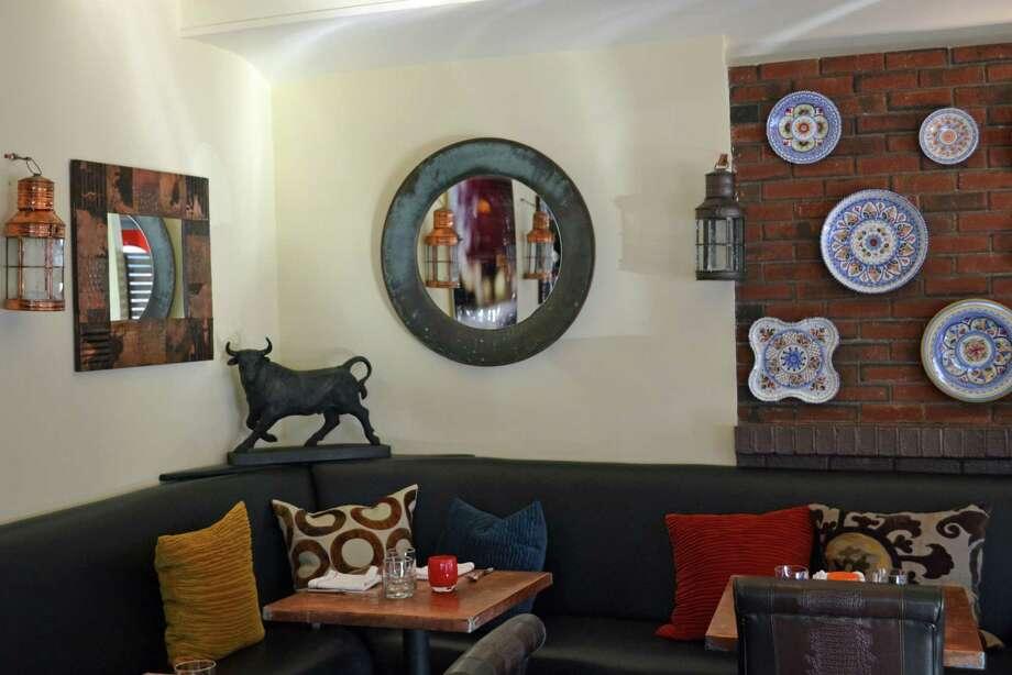 Picador, 15 Elm St., New Canaan, offers a wide selection of tapas, plus ensaladas, entradas and postres. Photo: Contributed