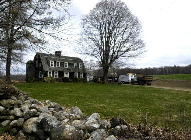 The Potter farm along Sunny Ridge Road in Washington was a local farming icon, April 20, 2008 Photo: Norm Cummings