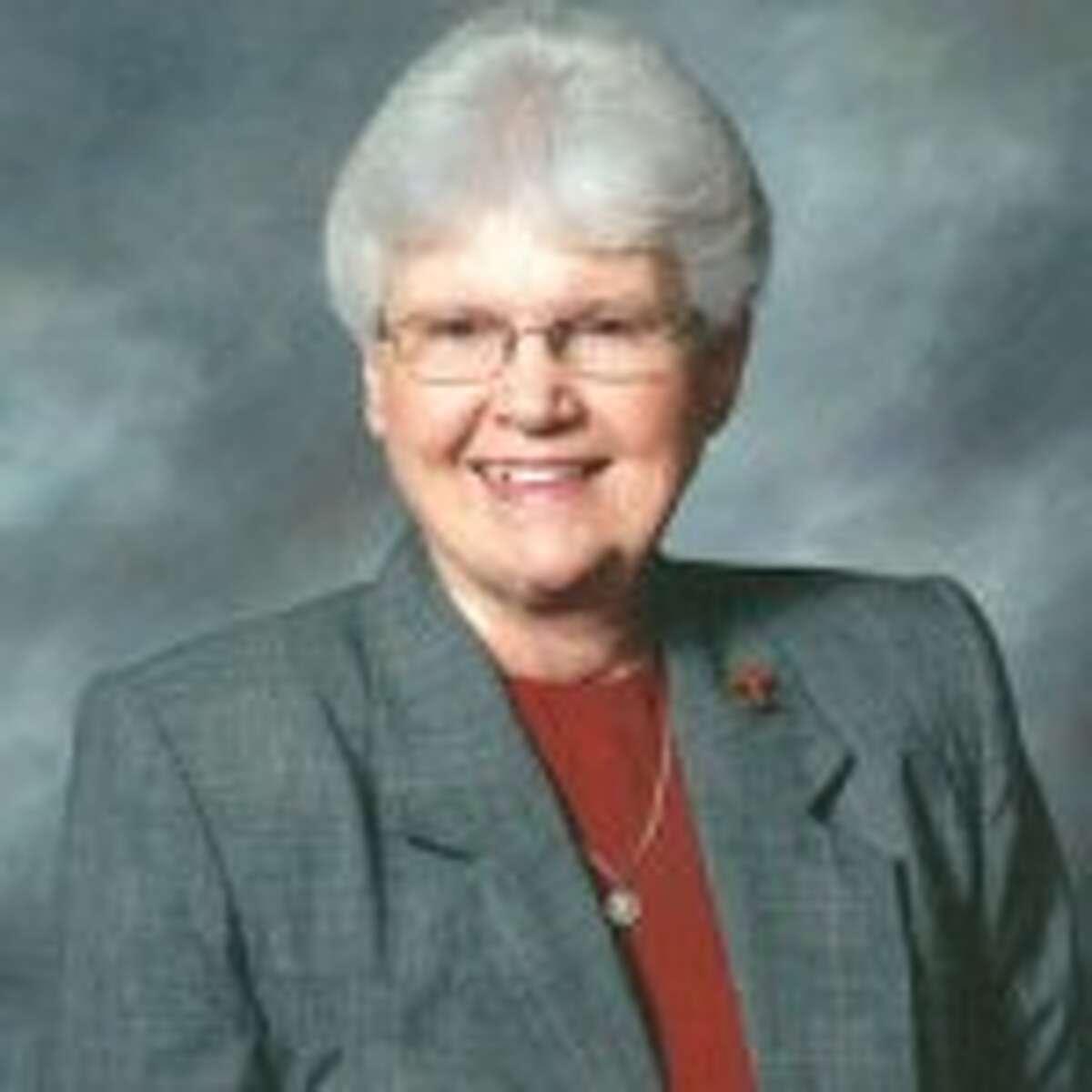Sister Jane Ann Slater, Interim President of OLLU