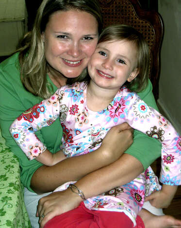 Rose Schuette, 4, of New Milford and her mother, Alice Schuette, will soon enjoy a trip to Disney World in Orlando, Fl. thanks to the Make A Wish Foundation. September 2009  Photo by Norm Cummings Photo: Norm Cummings