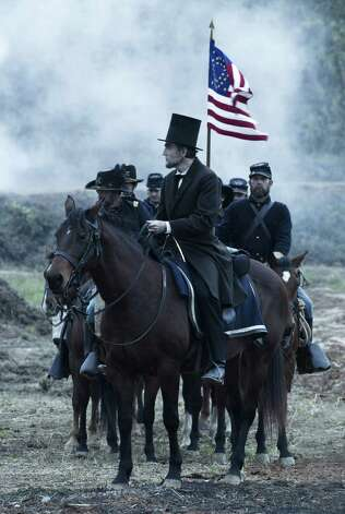 Best actor nominee: Daniel Day Lewis in 'Lincoln' Photo: David James