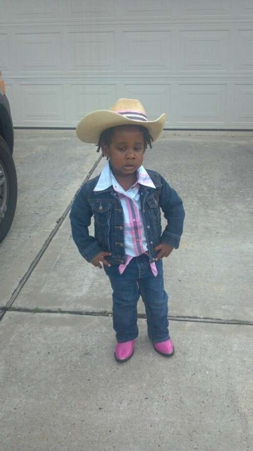 Dejah, age 2, is looking for her horse. Photo: Reader Submission