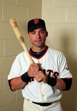 Marco Scutaro #19 poses for a portrait during San Francisco Giants Photo Day on February 20, 2013 in Scottsdale, Arizona. Photo: Jamie Squire, Getty Images / 2013 Getty Images