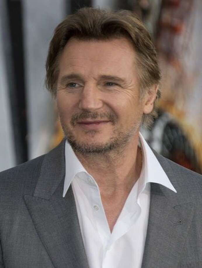 Liam Neeson, 60This tall drink of Guinness didn't become a bonafide action star until the later part of his career, when he starred in Star Wars: The Phantom Menace and Taken. Photo: Robyn Beck/AFP