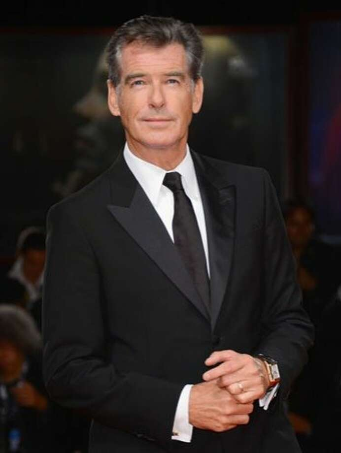 Pierce Brosnan, 59What can we say, we have a massive weakness for all current and former James Bonds. Plus, his name is just so fitting considering those piercing blue eyes. Photo: Venturelli/WireImage