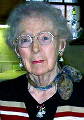 Mabel Anderson Honan died  Nov. 30, 2010 at Havenwood convalescence in Concord, New Hampshire.  She was 100 years old, born on July 22, 1910 in New Milford, the youngest of four sisters, and lived for many years in Gaylordsville.  Courtesy of the Honan family Photo: Contributed Photo
