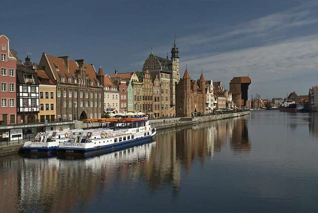 A view of Old Town along the Motlawa River in Gdansk, Poland. Photo: Witold Skrypczak, Lonely Planet Images