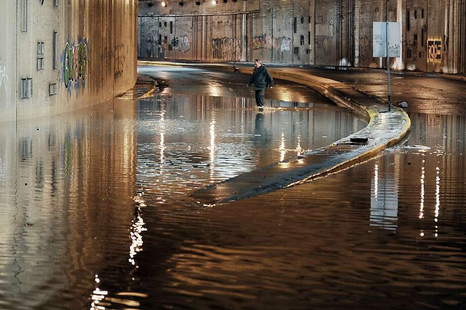 "Now it's not only Greece's finances that are underwater:""One of the worst thunderstorms we have ever had,"" according to Fire Chief Sotiris Georgakopoulos, leaves roads and homes flooded across Athens, causing massive gridlock and knocking out parts of its metro network. Photo: Louisa Gouliamaki, AFP/Getty Images"