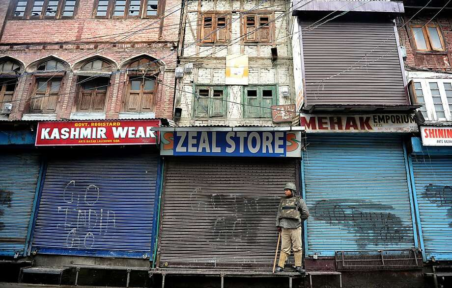 Oh, great. Guess I'll have to live with my soul-crushing apathy: Bad news - the Zeal Store in Srinagar is closed until further notice due to a curfew imposed to prevent Kashmiri separatist protests. You might try the Fervor Shop on Fourth. Photo: Rouf Bhat, AFP/Getty Images