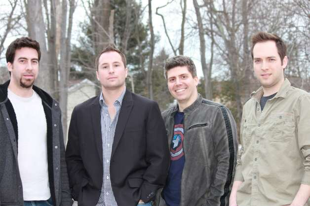Members of the Fairfield County-based band Skies For Miles will be joining other local musicians - indie rockers Matt & Dave and Local Talent - to put on a benefit concert for the Sandy Hook School Support Fund on Saturday, Feb. 23, 2013, at Rack 'n' Roll cafe in Stamford, Conn. The members of Skies for Miles are from left, John Louis Lebreton (lead guitars, vocals), Matt Migliardi (lead vocals, guitars), Bob Azud (drums), and Andrew MacDonald (bass). For more information, visit http://www.facebook.com/SkiesForMiles.
