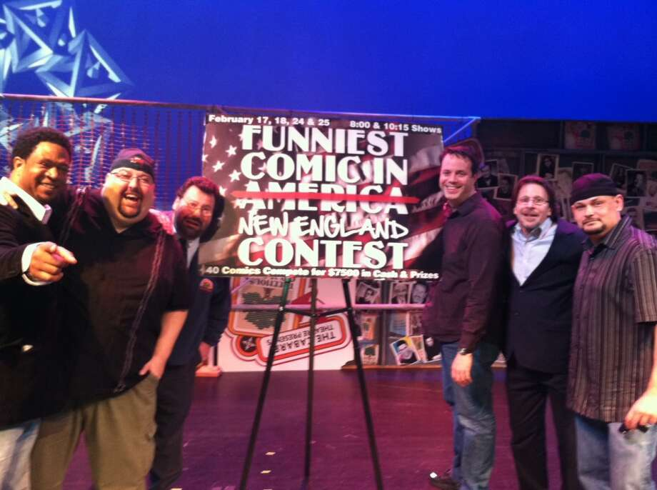 Crowning comic: The final round of the Funniest Comic in New England will take place at Mohegan Sun on Saturday, Feb. 23, 2013.