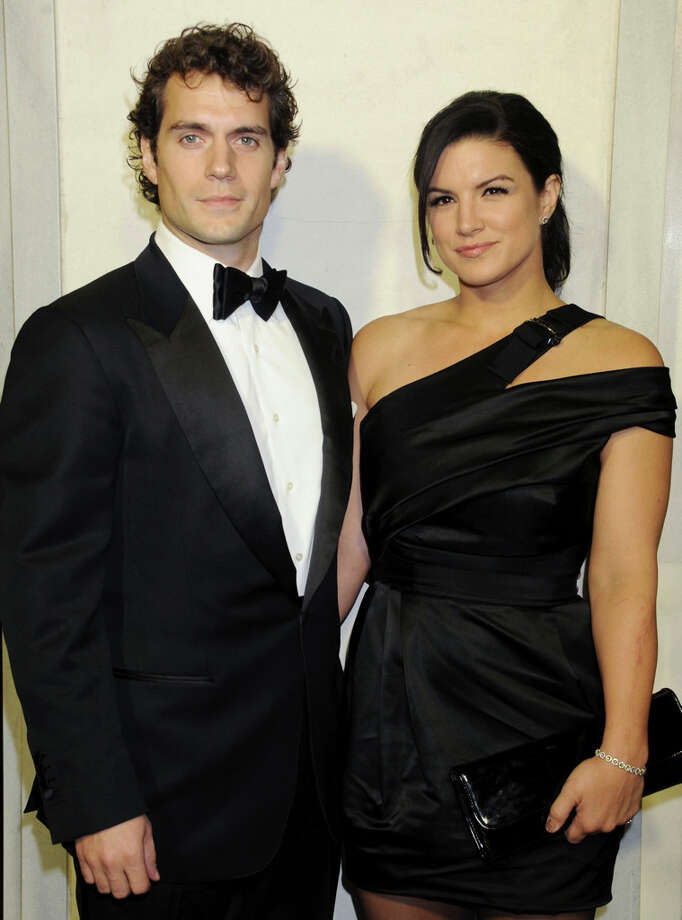Actor Henry Cavill and Gina Carano at the cocktail party. Photo: Gregg DeGuire, WireImage / 2013 Gregg DeGuire