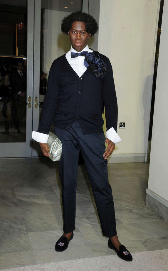J. Alexander strikes a pose at TOM FORD. Photo: Gregg DeGuire, WireImage / 2013 Gregg DeGuire