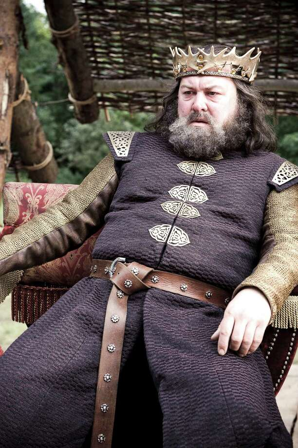 If only King Robert Baratheon hadn't gone out on the hunting trip and died then maybe the game of musical thrones wouldn't have started.  Photo: Helen Sloan, AP / HBO