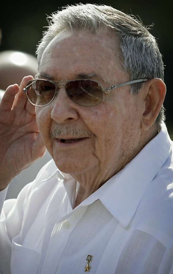 President Raul Castro says, at 82, he has the right to retire. Photo: Franklin Reyes, Associated Press