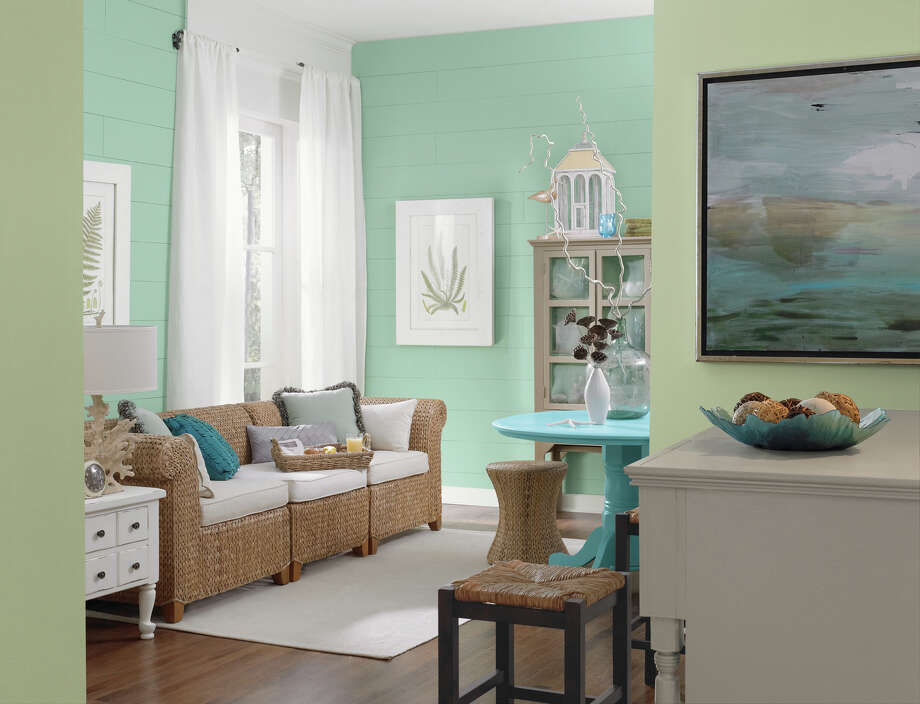 Selecting a room's color is one of the first steps in the remodeling process.