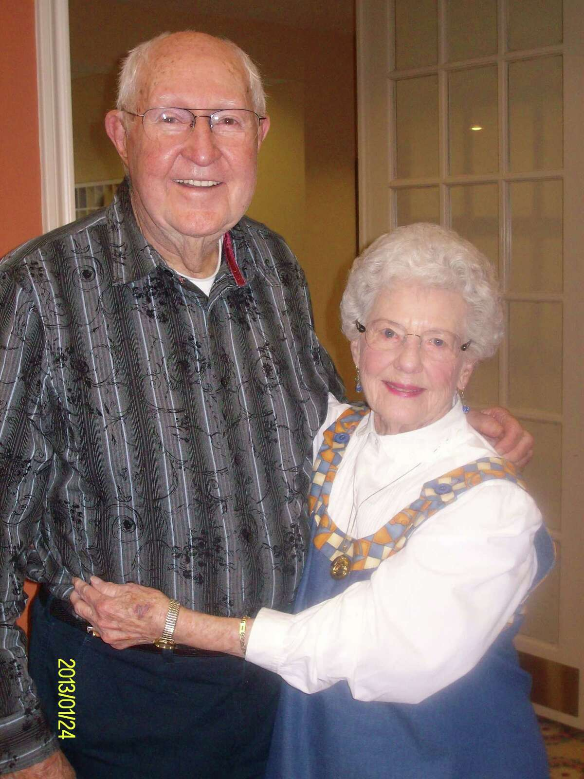 ALWAYS TOGETHER: LeRoy (91 years old) and Christine (89 years old) Gardner have been married for 67 years. The couple lives at Parkway Place senior living community.