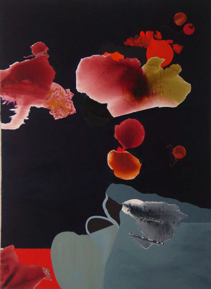 Dorothy Hood Untitled #110 c. 1980   1989 Oil on canvas 96  x 72   Collection of the Art Museum of South Texas / handout
