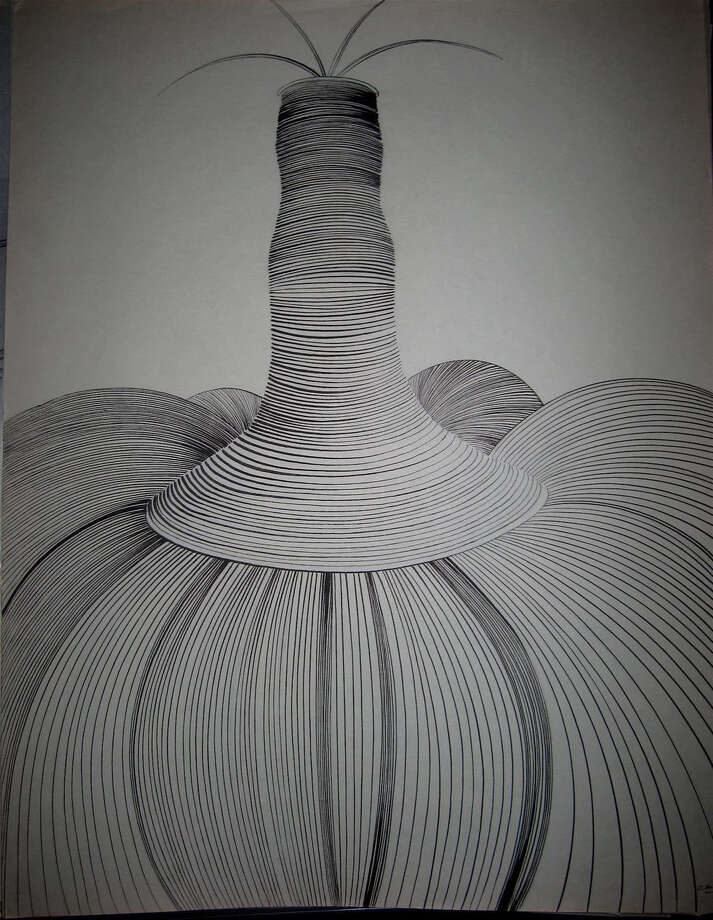 Dorothy Hood -- Fetish Plant, ca. 1960s / handout