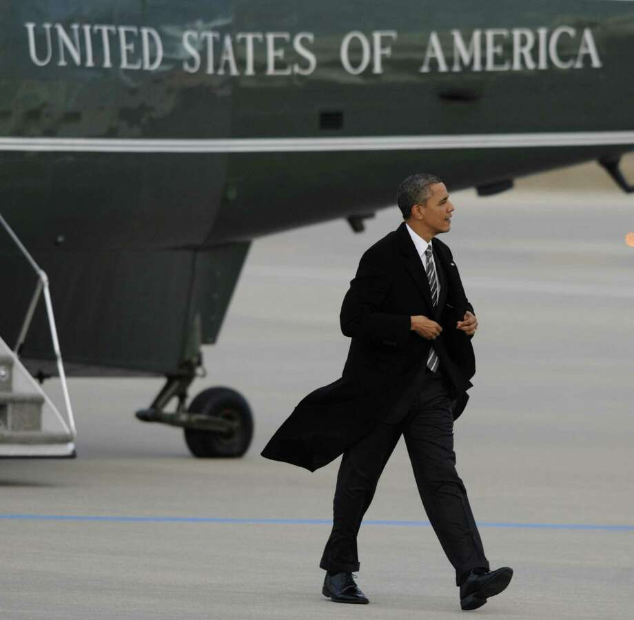 President Barack Obama seems to be in lockstep with Washington insiders who signed off on the 2011 Budget Control Act, a measure that protects waste. Photo: PAUL BEATY / Associated Press