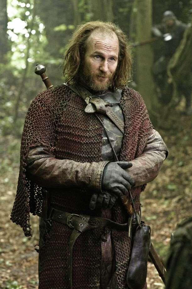 Thoros of Myr a.k.a the Red Wizard, is a member of the Brotherhood Without Banners and appears in season 3. Photo: HBO
