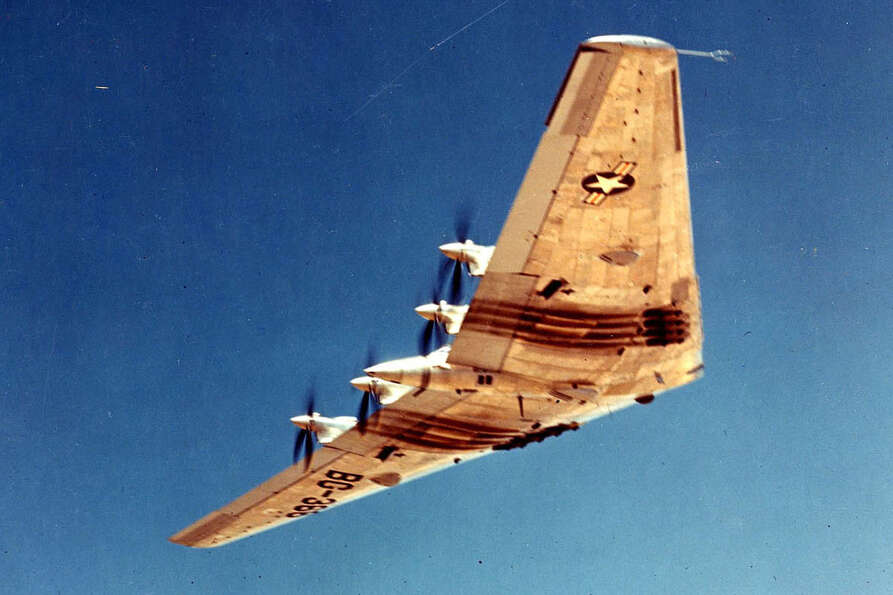 But engineering problems delayed the XB-35 program until it became clear that jet engines were the f