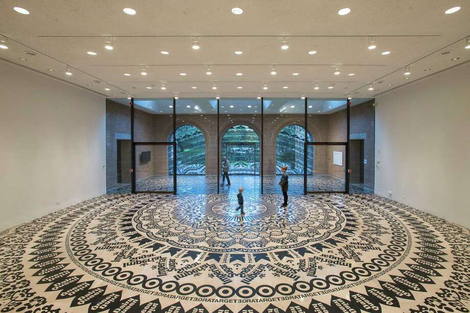 "Gunilla Klingberg's ""Wheel of Everyday Life"" installation fills Rice Gallery through March 17. Photo: Rice Gallery"