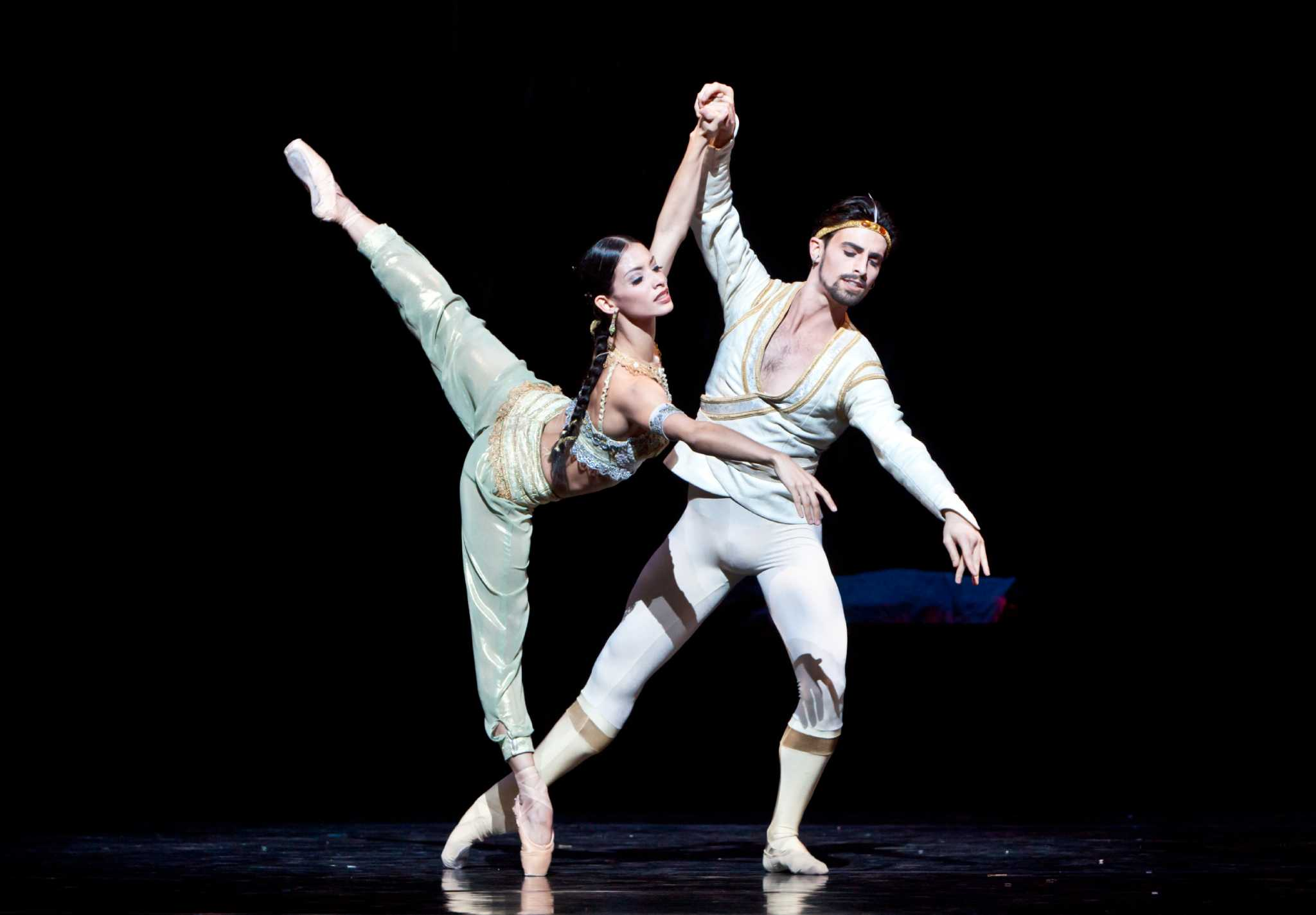 dance review  stellar performance  la bayadere houston chronicle