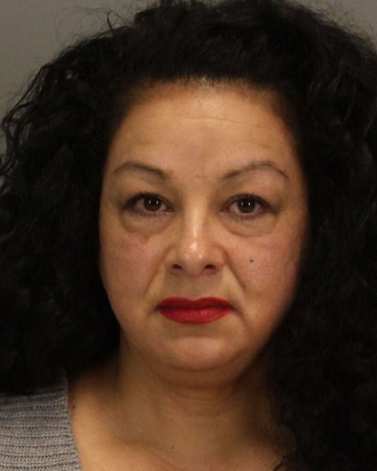 Anna Ayala, who served a prison stint for concocting a story about finding part of a finger in a bowl of chili at a Wendy's in San Jose. She has now been charged in a case in which she allegedly tried to frame a man for her son's accidental shooting.