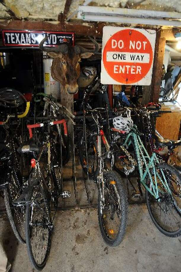 Many of the residents have bikes.