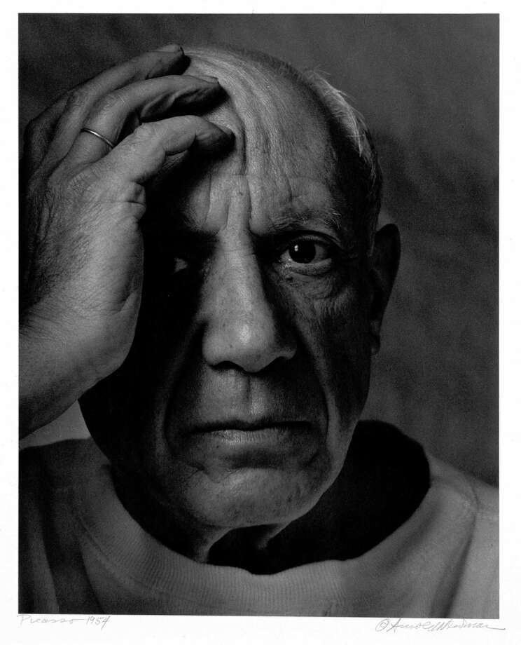 The University of Texas' Ransom Center has received the archives of photographer Arnold Newman, known for his environmental portraits.  Arnold Newman Pablo Picasso, France, 1954 Arnold Newman/Getty Images  Ransom Center Photo: Arnold Newman / handout email