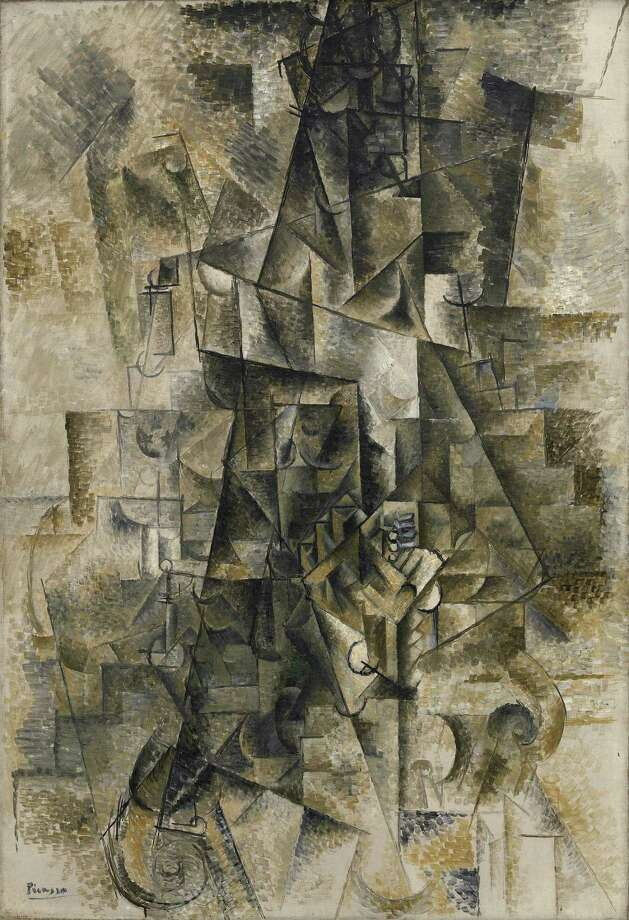 Pablo Picasso, Accordionist, Céret, summer 1911, oil on canvas, Solomon R. Guggenheim Museum,