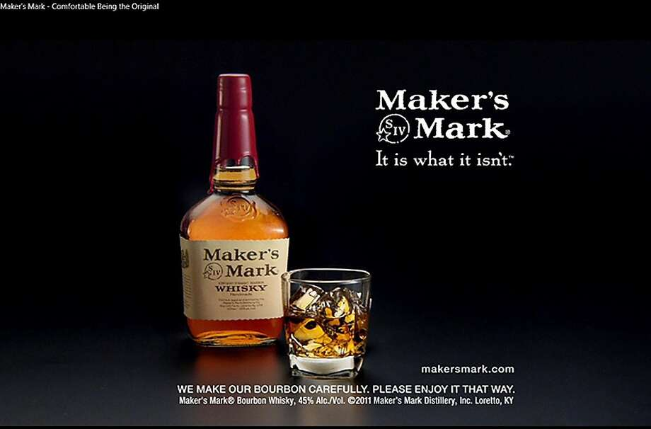 A strategy by Maker's Mark to lower the bourbon's alcohol content by three percentage points did not exactly please many of its customers. Photo: Uncredited, Associated Press