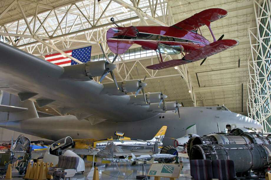 Hughes kept it in flight-ready condition  until his death in 1976s. It's now in the Evergreen Aviation Museum, in  McMinnville, Ore. We could do a whole gallery on unusual cargo airplanes. In fact, we did, so check it out. Photo: George Rose, Getty Images / 2012 George Rose