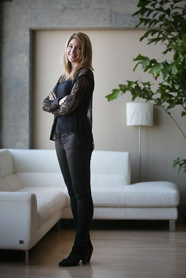 Melody McCloskey, CEO and co-founder of StyleSeat, saw the need for an online booking service for the beauty industry. Photo: Lea Suzuki, The Chronicle