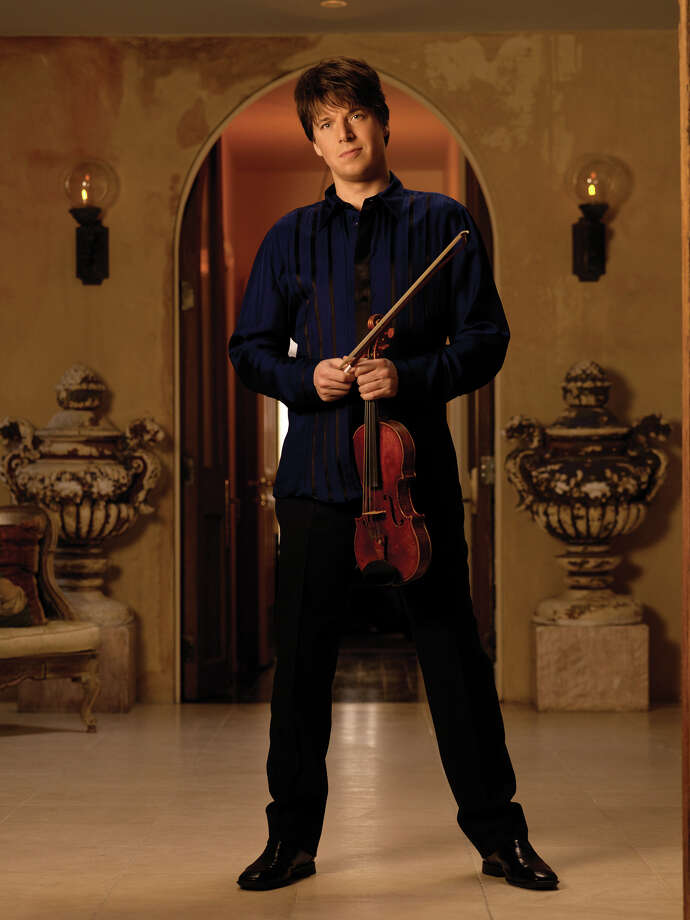 Violinist Joshua Bell will be featured in a 75th anniversary concert June 14, 2014. Photo: Timothy White / handout