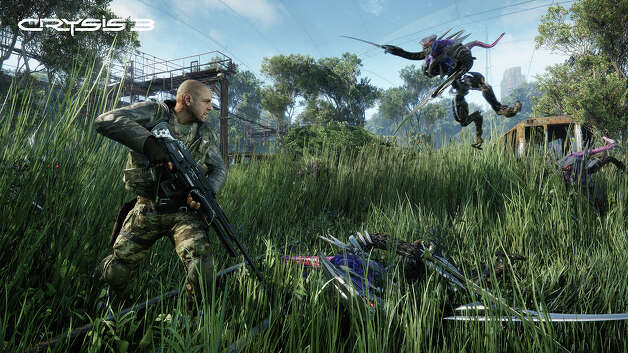 "Electronic Arts' ""Crysis 3"" is the third in a series of video games revolving around an energy crisis. Photo: Associated Press / Electronic Arts"