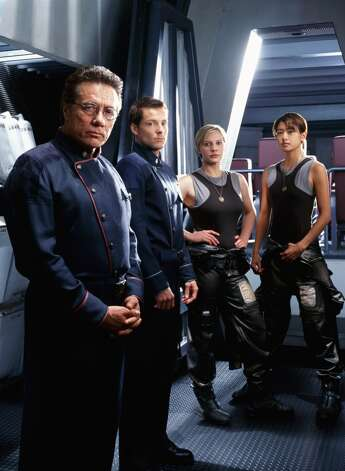 ''Battlestar Galactica'' first aired in 2003 as a mini-series on the Sci-Fi Channel, before becoming a regular show in 2004. It would become one of the most distinguished dramas on TV.